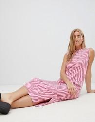 JDY Sleeveless Striped Jersey Maxi Dress - Multi