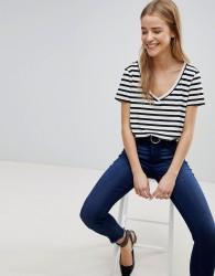 JDY Striped T-Shirt - Multi