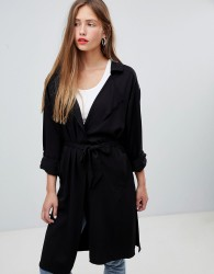 JDY trench coat - Black