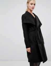 JDY wrap coat - Black