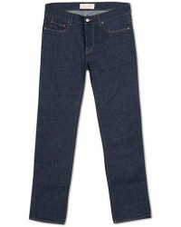 Jeanerica SM001 Slim Jeans Blue Raw men W31L34 Blå