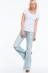 Jeans Florence Le Cats, flare slim fit