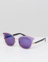 Jeepers Peepers Cat Eye Sunglasses In Purple - Purple
