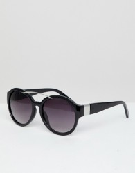 Jeepers Peepers Oversized Sunglasses - Black