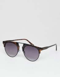 Jeepers Peepers Round Sunglasses In Tort - Brown