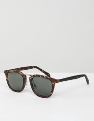 Jeepers Peepers Square Sunglasses In Tort - Brown