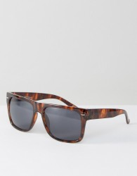 Jeepers Peepers Square Sunglasses In Tortoiseshell - Brown