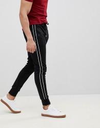 Jefferson Plain Trousers - Black