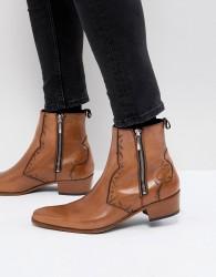 Jeffery West Carlito chelsea boots in tan - Tan