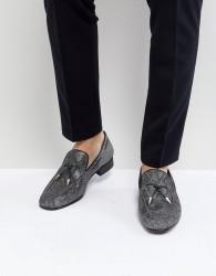 Jeffery West Jung Tassel Loafers In Grey - Grey