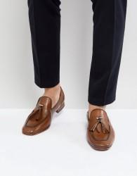 Jeffery West Martini Tassel Loafers In Tan - Tan
