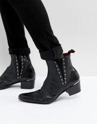Jeffery West Murphy Studded Boots - Black