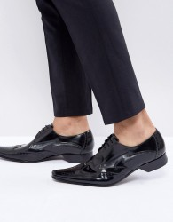 Jeffery West Pino Borgue Lace Up Shoes In Black - Black