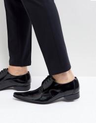 Jeffery West Pino Centre Seam Laser Cut Shoes - Black