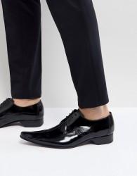 Jeffery West Pino Centre Seam Shoes in Black - Black