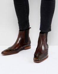 Jeffery West Scarface chelsea boots in tan - Tan