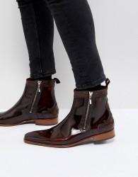 Jeffery West Scarface zip boots - Brown