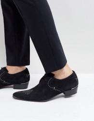 Jeffery West Studded Shoes - Black