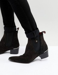 Jeffery West Sylvian Glitter Boots - Red