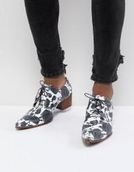 Jeffery West Sylvian Rose Print Shoes - Blue