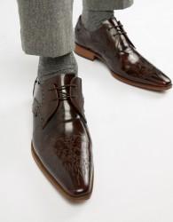 Jeffery West Yardbird tattoo shoes - Brown