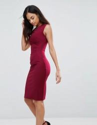 Jessica Wright Bodycon Midi Dress - Red
