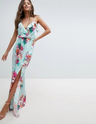 Jessica Wright Floral Maxi Dress - Blue