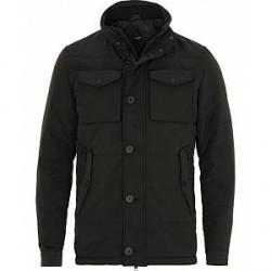 J.Lindeberg Bailey Structured Poly Jacket Black