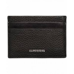 J.Lindeberg Credit Card Holder Black