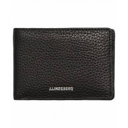 J.Lindeberg Credit Card Wallet Black