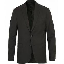 J.Lindeberg Hopper Soft Comfort Wool Blazer Black