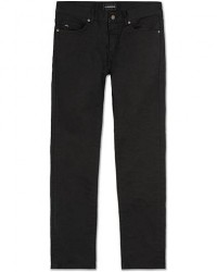 J.Lindeberg Jay Satin Stretch Jeans Black men W32L34 Sort