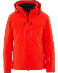 J.Lindeberg Watson 2-Layer Ski Jacket Racing Red men L