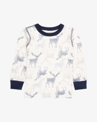 Joha langærmet T-shirt - uld