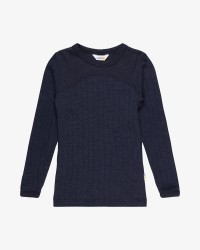 Joha T-shirt - uld/silke