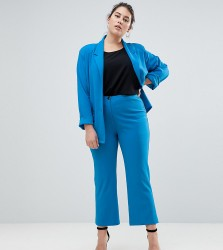 John Zack Plus Cigarette Trouser - Blue