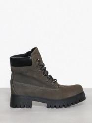 Johnny Bulls Lace Boot Flat Khaki