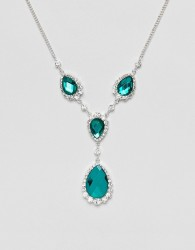 Johnny Loves Rosie Emerald Green Necklace - Green