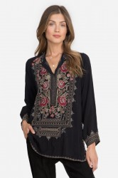 Johnny Was - Meadow Tunic - Black