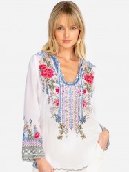 Johnny Was - Millie Blouse - Multi