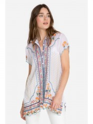 Johnny Was - Moji Tunic - White