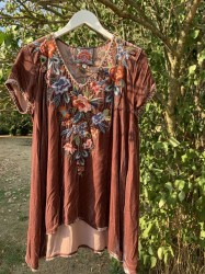 Johnny Was - Renata Tunic - Rose