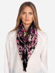 Johnny Was - Rose Letter Scarf - Multi