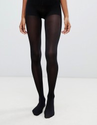 Jonathan Aston 100 denier gloss opaque tight in black - Black