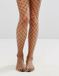 Jonathan Aston Black Fishnet Tights - Black