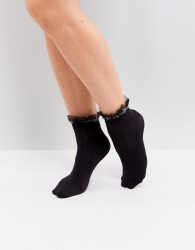 Jonathan Aston Shadow Ankle Sock - Black