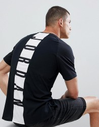 Jordan Alpha Dry T-Shirt With Back Print In Black 889713-013 - Black