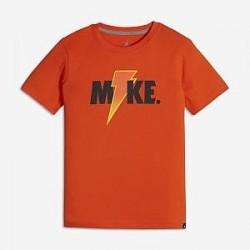 Jordan Lightning– T-shirt til store børn (drenge) - Orange