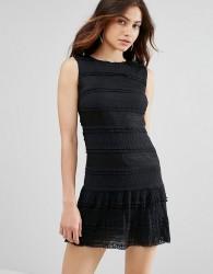 Jovonna Sunday Bliss Lace Dress - Black