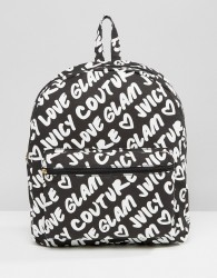 Juicy Couture Grafitti Backpack - Black